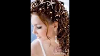 видео Свадебные прически на средние волосы с челкой: 50 фото 2015 года