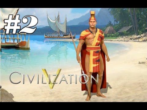 Civ 5: Polynesia - Claiming the Island (Part 2)