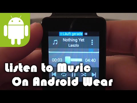 Listen to Music on Android Wear