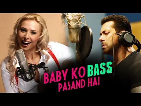 Salman Khan & Girlfriend Iulia Vantur SING 'Baby Nu Bass Pasand Hai'   SULTAN Movie