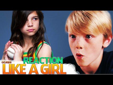 British Kids React to | 'Like A Girl' | ocUKids