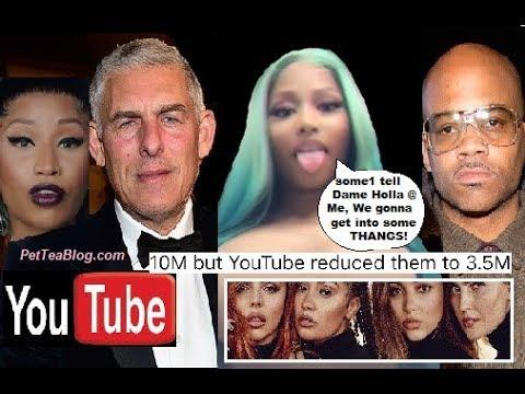 Nicki Minaj Exposes YOUTUBE & Atlantic for Stealing Her Views, Dame Dash invited ☕