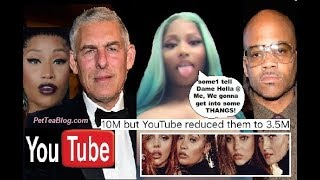 Nicki Minaj Exposes YOUTUBE & Atlantic for Stealing Her Views, Dame Dash invited ☕