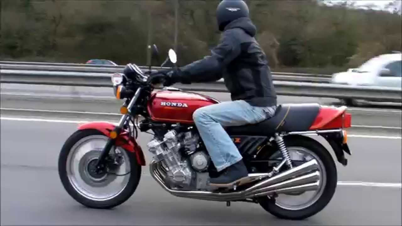 hight resolution of honda cbx 1000 on the move