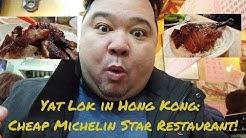 YAT LOK: HONG KONG'S BEST ROASTED GOOSE RESTAURANT ?