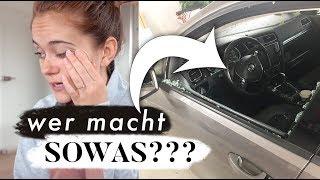 Einbruch ins Auto | besondere Schreibtischstühle & Vorbereitungen für den Shop | MANDA Vlog