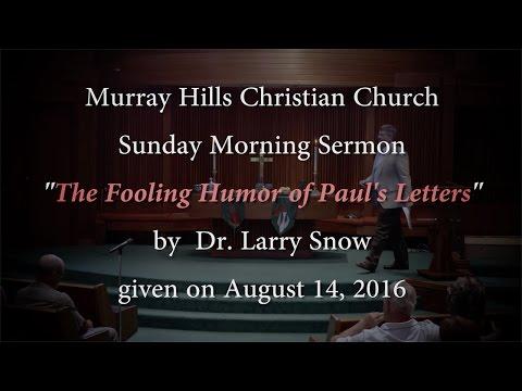 MHCC Sermon