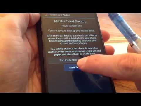 Mycelium HD Wallet (Android)