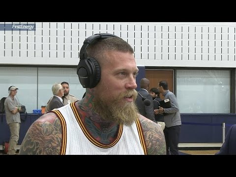Chris Andersen Interview | Cleveland Cavaliers | September 26, 2016 | 2016-17 NBA Season