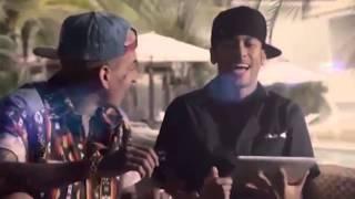 Neymar participa do clipe da música 'País do Futebol de MC Guimê
