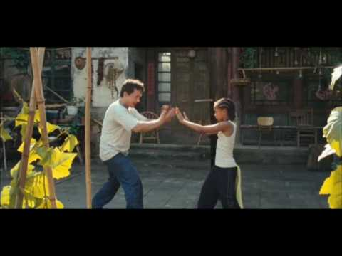 The Karate Kid (2010) Jakie Chan & Jade Smith
