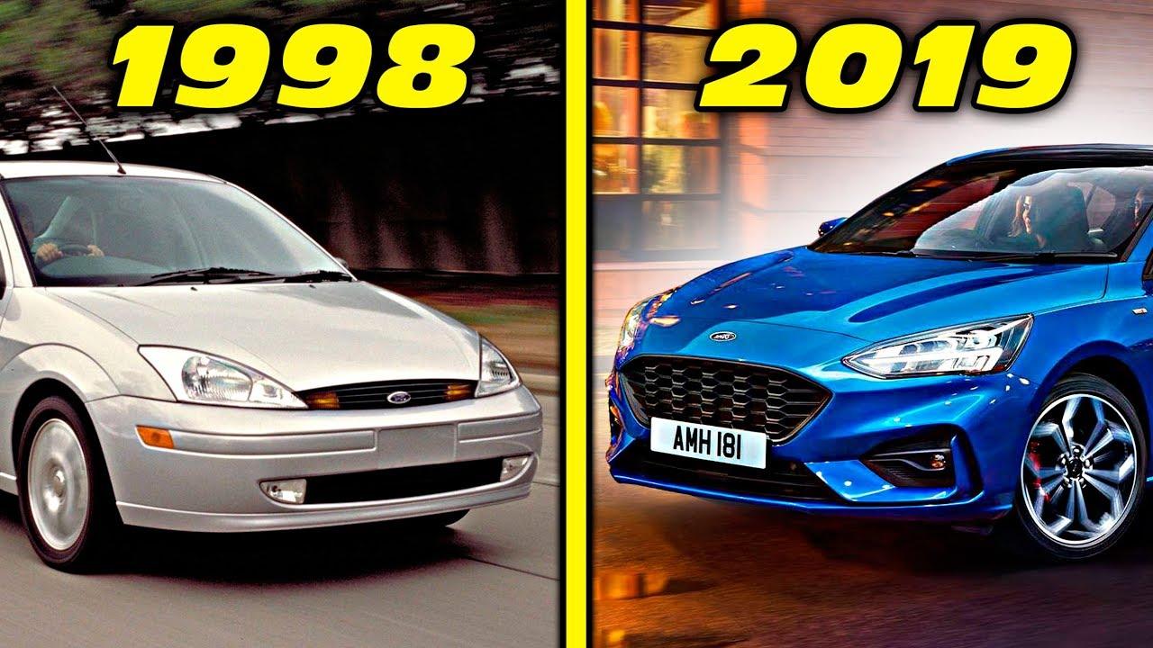 Ford Focus St Rs History Evolution 1998 2019 4k