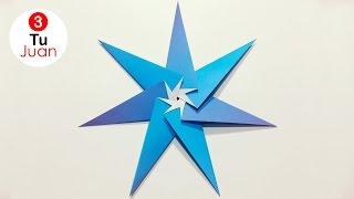 Estrellas de Papel para Decorar - Origami | JuanTu3