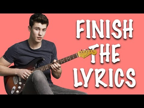 FINISH THE LYRICS ★ Can you finish these Shawn Mendes song lyrics?