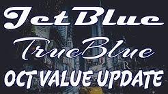 How much are JetBlue TRUEBLUE miles worth?