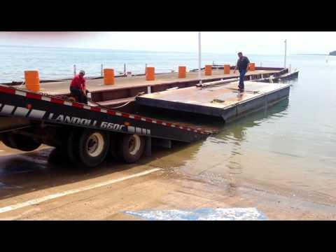 Paddling a Barge