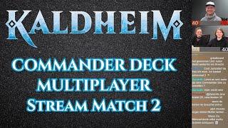 MTG Kaldheim | Commander Multiplayer Match 19 | Magic the Gathering deutsch | Trader Tutorial Duell
