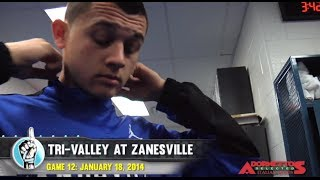 HS Boys Basketball: Tri-Valley at Zanesville (1/18/14)
