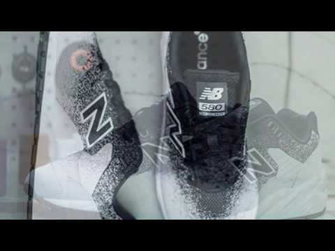 reputable site fc021 055bd NEW BALANCE 580 REENGINEERED KNIT PACK - YouTube
