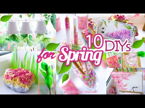 Thumbnail: 10 DIY Room Decor and Desk Organization Ideas For Spring – 10 Awesome DIY Projects