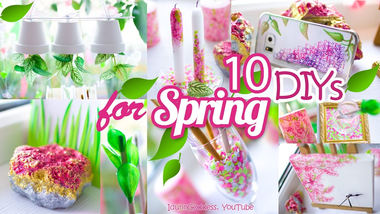 10 diy room decor and desk organization ideas for spring – 10