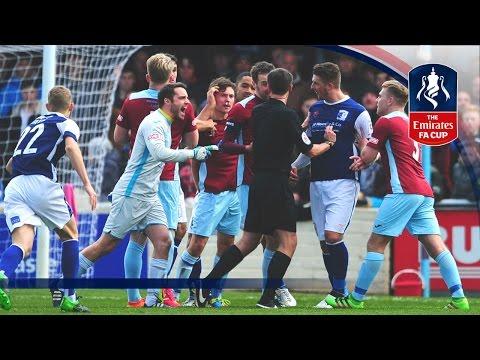 Taunton Town 2-2 Barrow - Emirates FA Cup 2016/17 (R1)   Goals & Highlights