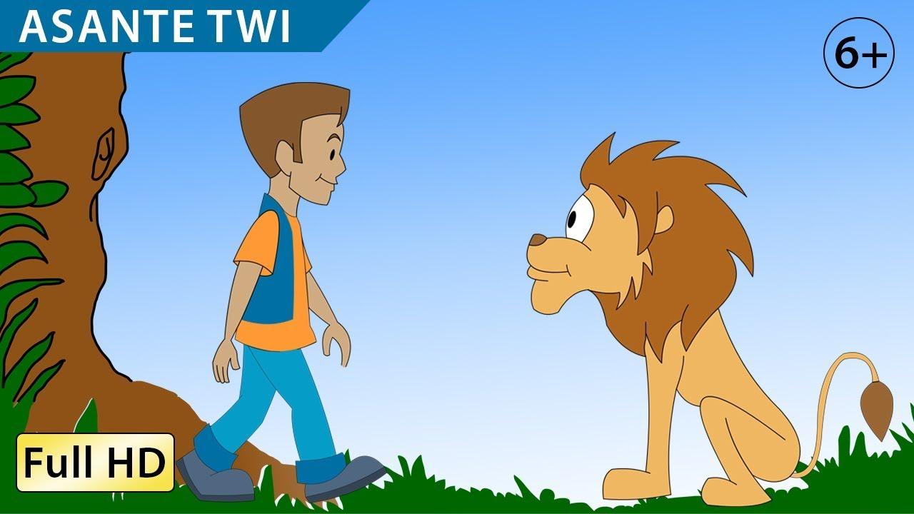 The Greatest Treasure: Learn Asante Twi with subtitles Story for Children