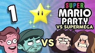 Super Mario Party VS SuperMega: Boys on Boys - PART 1 - Game Grumps VS