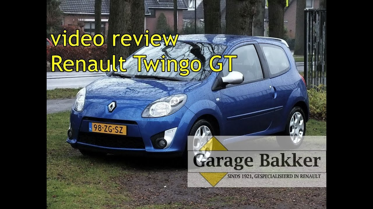 video review renault twingo gt tce 100 2008 98 zg sz youtube. Black Bedroom Furniture Sets. Home Design Ideas