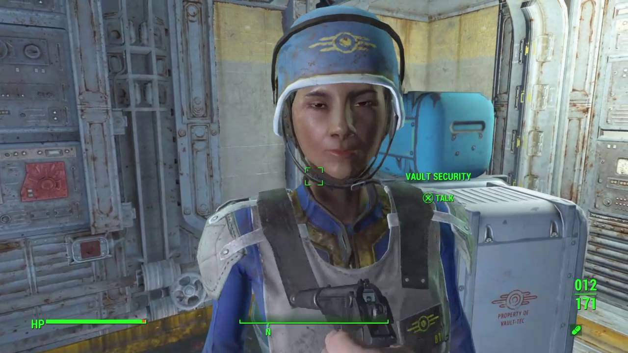 Fallout 4 (how to get vault-tec security armor) - YouTube Fallout 4 Mods