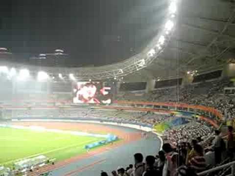Inside the Shanghai Olympic Stadium