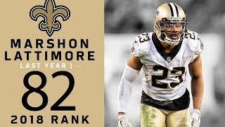 #82: Marshon Lattimore (CB, Saints) | Top 100 Players of 2018 …