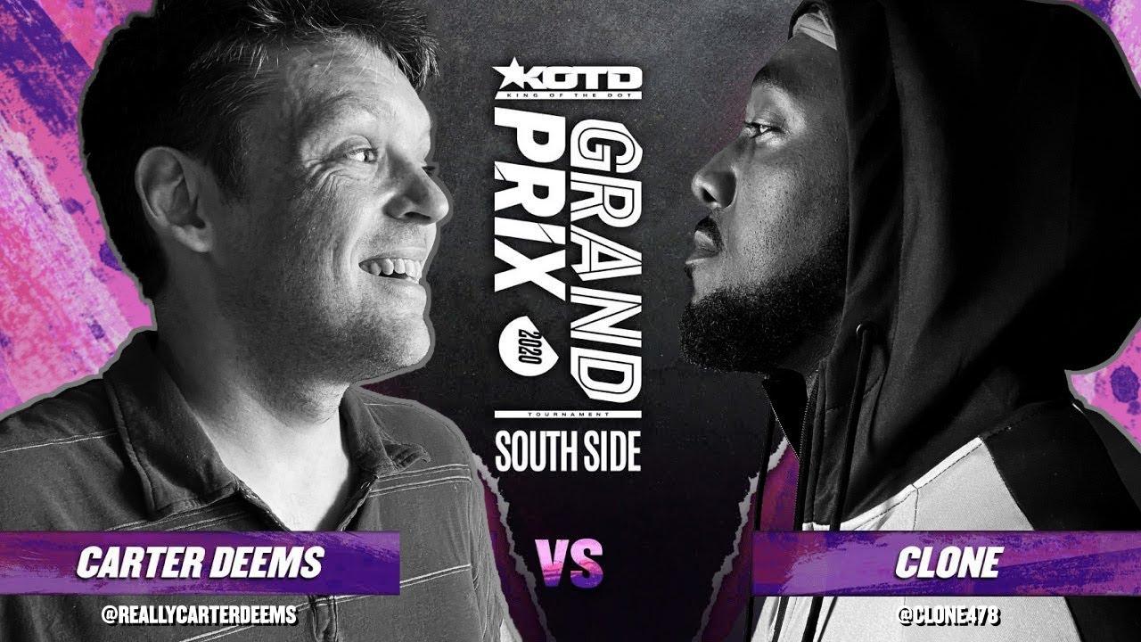 Download KOTD - Rap Battle - Carter Deems vs Clone   #GP2020 R1