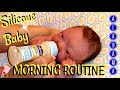 My Silicone Baby s Full Morning Routine with a TIP The Land of 1O,OOO Pacifiers