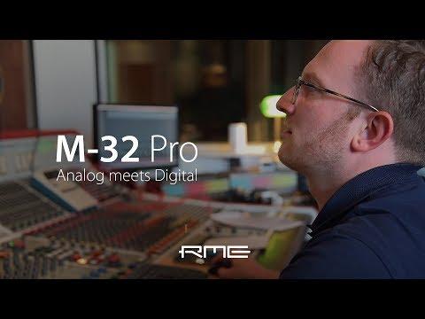 M-32 Pro AVB Series At YEAH! YEAH! YEAH! Studios Hamburg