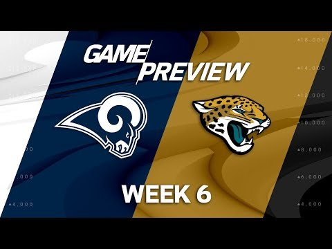 Los Angeles Rams vs. Jacksonville Jaguars | Week 6 Game Preview | Move the Sticks