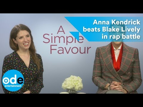 A Simple Favor: Anna Kendrick beats Blake Lively in rap battle