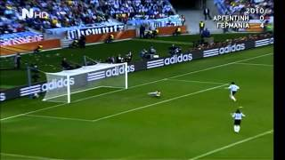 Argentina vs Germany 0-4 / World cup 2010, Highlights