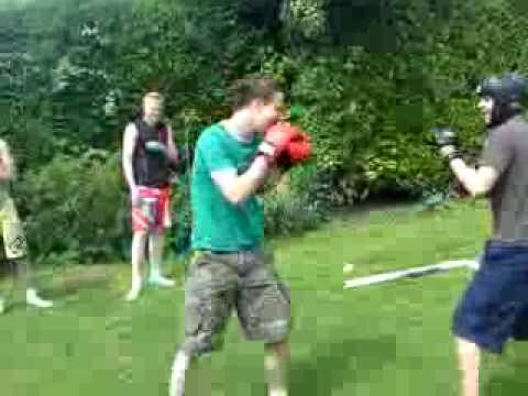 Dave vs Harradine fightclub