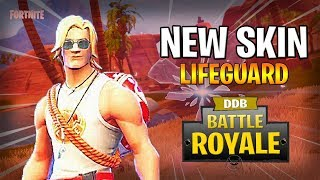 "NEW SKIN ""MASTER NAGEUR"" - FORTNITE BATTLE ROYALE GAMEPLAY EN"