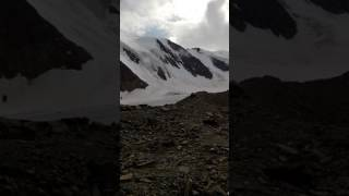 Алтай, Актру, панорама. Голубое озеро июль 2016(Панорама вида на голубое озеро. #бандачулышмана., 2016-11-10T18:22:33.000Z)