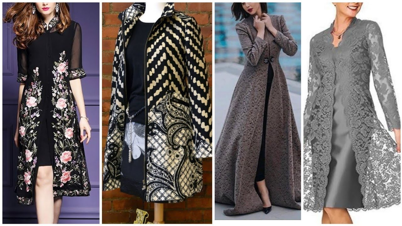 Latest Gown Style Open Shirts Designs 2019 || Casual And Fancy Open Kerti Designs