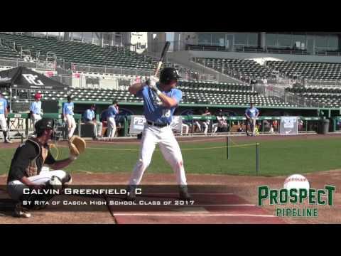 Calvin Greenfield Prospect Video, C St Rita of Cascia High School class of 2017