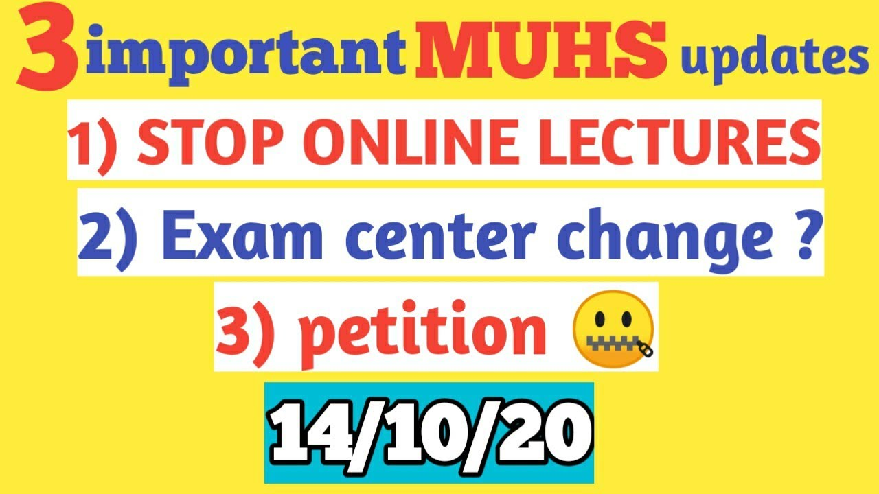medical exam Update || medical exams news today || can we change exam center now ?