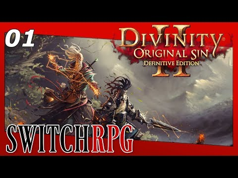 Divinity: Original Sin 2 - Definitive Edition - Nintendo Switch Gameplay - Episode 1