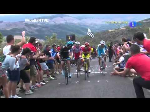 Etapa 14 Ultimos kilometros Santander-La Camperona Vuelta a España 2014