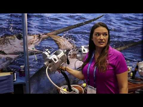 Hooker Electric Penn International 130VIS Electric Reels At ICAST 2019