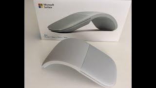Microsoft Surface Arc Maus Test und Praxis