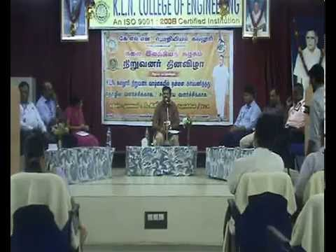 Pattimandram By Dr.A.Kannan Fournder's Day Celebration Indroduction Part
