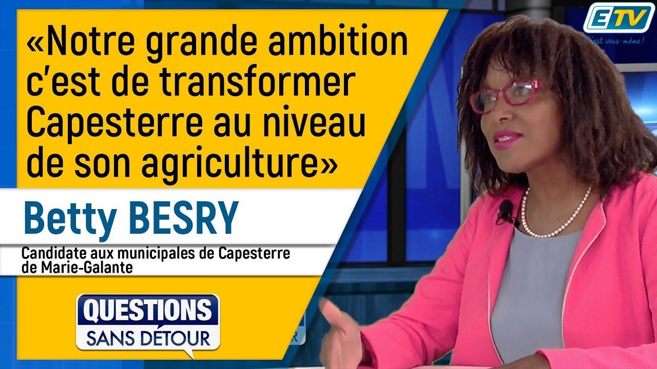 Questions Sans Détour avec Betty BESRY